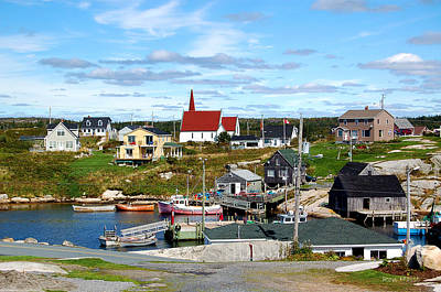 Photograph - Peggys Cove by Ron Haist