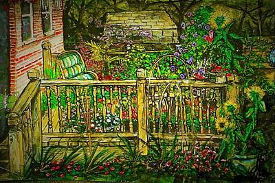 Peggy's Paradise Art Print