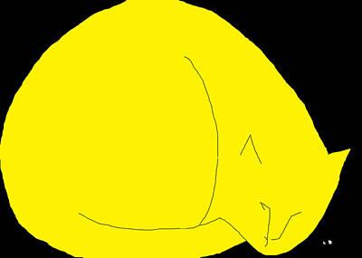 Painting - Pegs Yellow by Anita Dale Livaditis