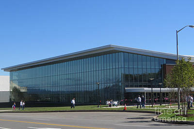 Bryce Jordan Center Photograph - Pegula Ice Arena by Tom Gari Gallery-Three-Photography