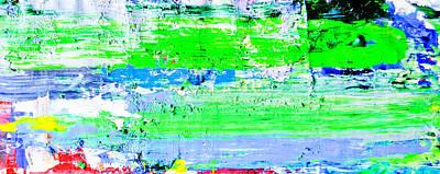 Pei Shen Qian Is Faking Jackson Pollock Art Print by Eckhard Besuden