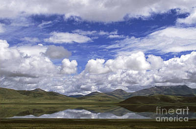 Photograph - Pekhu Lake Tibet by Craig Lovell