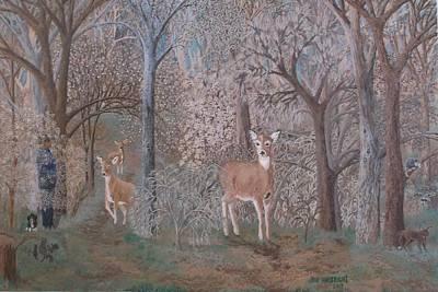 Woodsmen Painting - The Unknown Woodsman by Joni Waybright