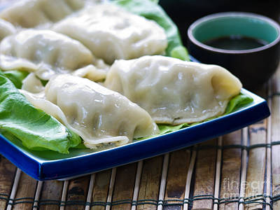 Bamboo Photograph - Peking Ravioli by Edward Fielding