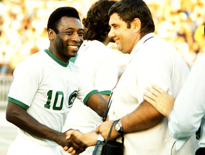 Photograph - Pele The Magnificent by Robert  Rodvik
