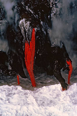 Photograph - Pele's Bloodline by C Ray  Roth