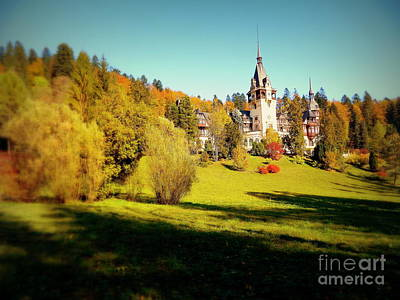 Peles Castle Original by Bufnila Alin