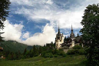Romania Photograph - Peles Castle by Maren Misner