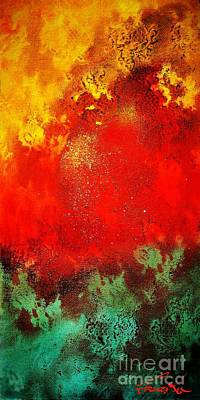 Painting - Pele's Fire by Frances Ku