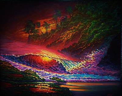 Painting - Pele's Fire by Joseph   Ruff