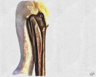 Painting - Pelican 2 by Walt Foegelle