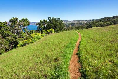 Santa Cruz Island Photograph - Pelican Bay Trail, Santa Cruz Island by Russ Bishop