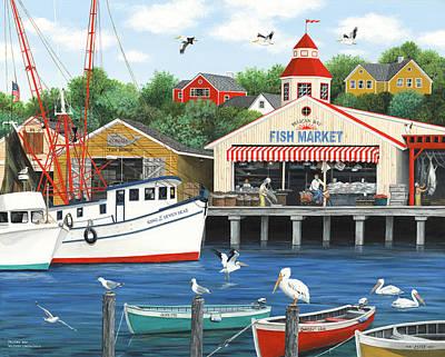 Painting - Pelican Bay by Wilfrido Limvalencia
