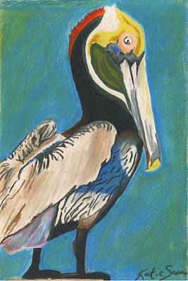 Pastel - Pelican Blue by Katie Sasser