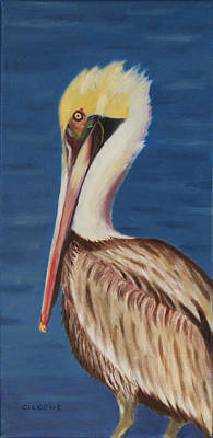 Painting - Pelican Brief by Jill Ciccone Pike