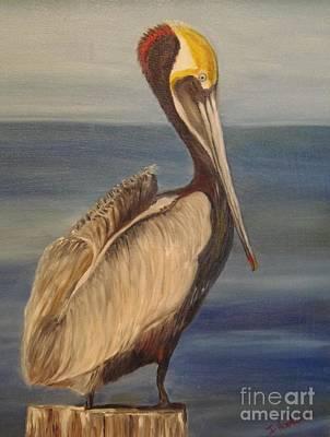 Painting - Pelican by Isabel Honkonen