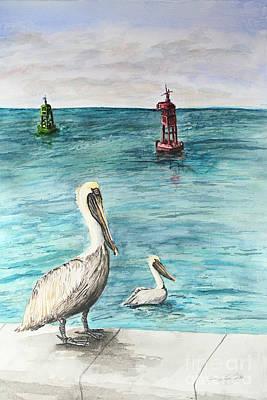 Pelican Art Print