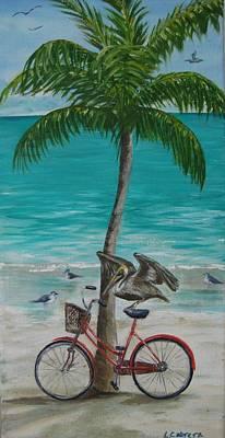 Pelican Landing Art Print
