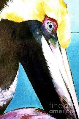 Painting - Pelican Profile by Valerie Reeves