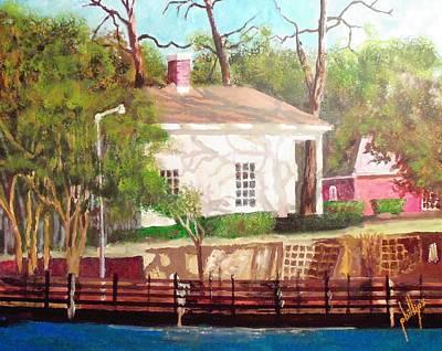 Pelleteir House 1850 Art Print