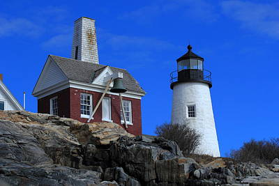 Photograph - Pemaquid Bell House by Doug Mills