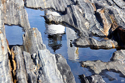 Photograph - Pemaquid Ledges by John Meader