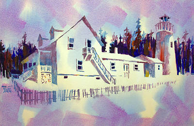 Painting - Pemaquid Light by William Duncan