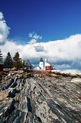 Photograph - Pemaquid Lighthouse 4825 by Guy Whiteley