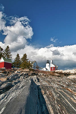 Photograph - Pemaquid Lighthouse 4833 by Guy Whiteley