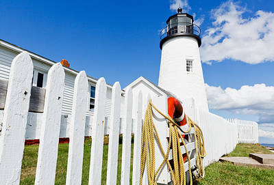 Photograph - Pemaquid Lighthouse by Ben Graham