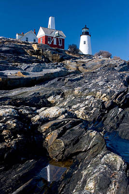 Photograph - Pemaquid Lighthouse by Brent L Ander