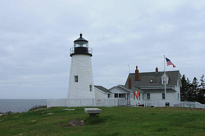 Photograph - Pemaquid Lighthouse by Jane Luxton