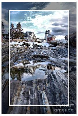 Pemaquid Lighthouse Print by Victoria  Dauphinee