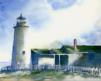 Painting - Pemaquid Lighthouse by William Beaupre