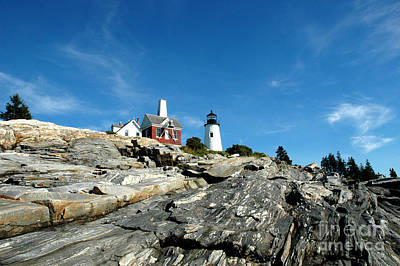Pemaquid Point Art Print by Alan Russo