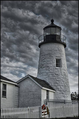 Photograph - Pemaquid Point by Erika Fawcett