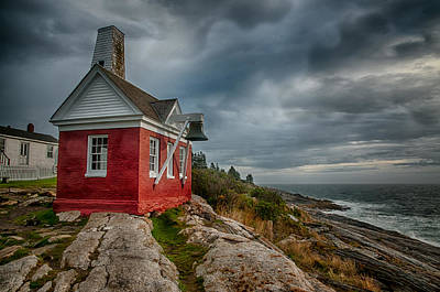 Photograph - Pemaquid Point by Fred LeBlanc