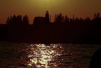 Photograph - Pemaquid Point Light At Dusk by Joe Faherty