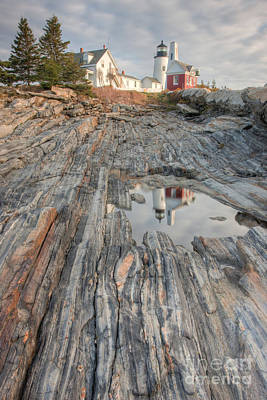 Photograph - Pemaquid Point Light Iv by Clarence Holmes
