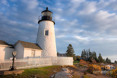 Photograph - Pemaquid Point Light V by Clarence Holmes