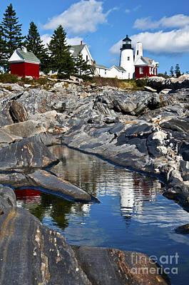 Photograph - Pemaquid Point Lighthouse Maine by Glenn Gordon