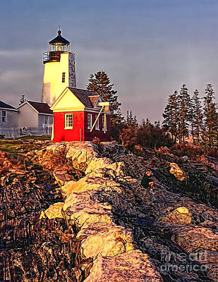 Photograph - Pemaquid Point Lighthouse  Maine by Nick Zelinsky