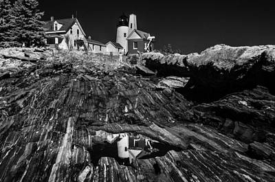 Photograph - Pemaquid Reflection by Donald Brown