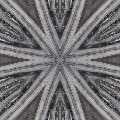 Digital Art - Pemaquid Rock Five by Trina Stephenson