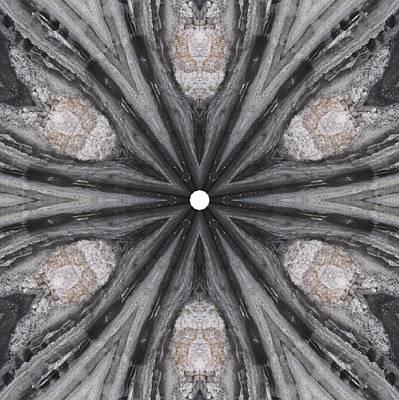 Digital Art - Pemaquid Rock Two by Trina Stephenson