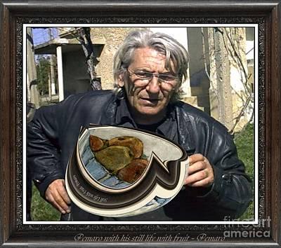 Pemaro Painting - Pemaro With His Still Life With Fruit 2 by Pemaro