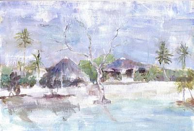 Painting - Pemba Bush Camp by David  Hawkins