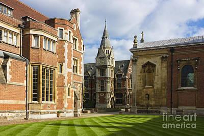 Pembroke College In Cambridge Art Print by Kiril Stanchev