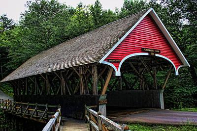 Photograph - Pemigewasset Bridge by Heather Applegate