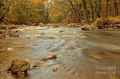 Photograph - Pemigewasset River Rushing By by Adam Jewell
